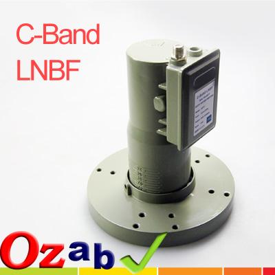 c波段双极性高频头接收卫星电视
